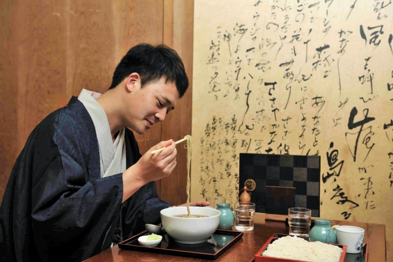 The shared cultural roots<span></span>of<i>rakugo</i>and Japanese cuisine.