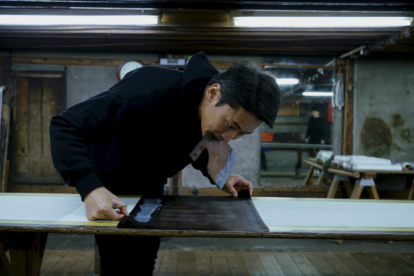 There is something attractive about Edo Komon, that can be made only by hand