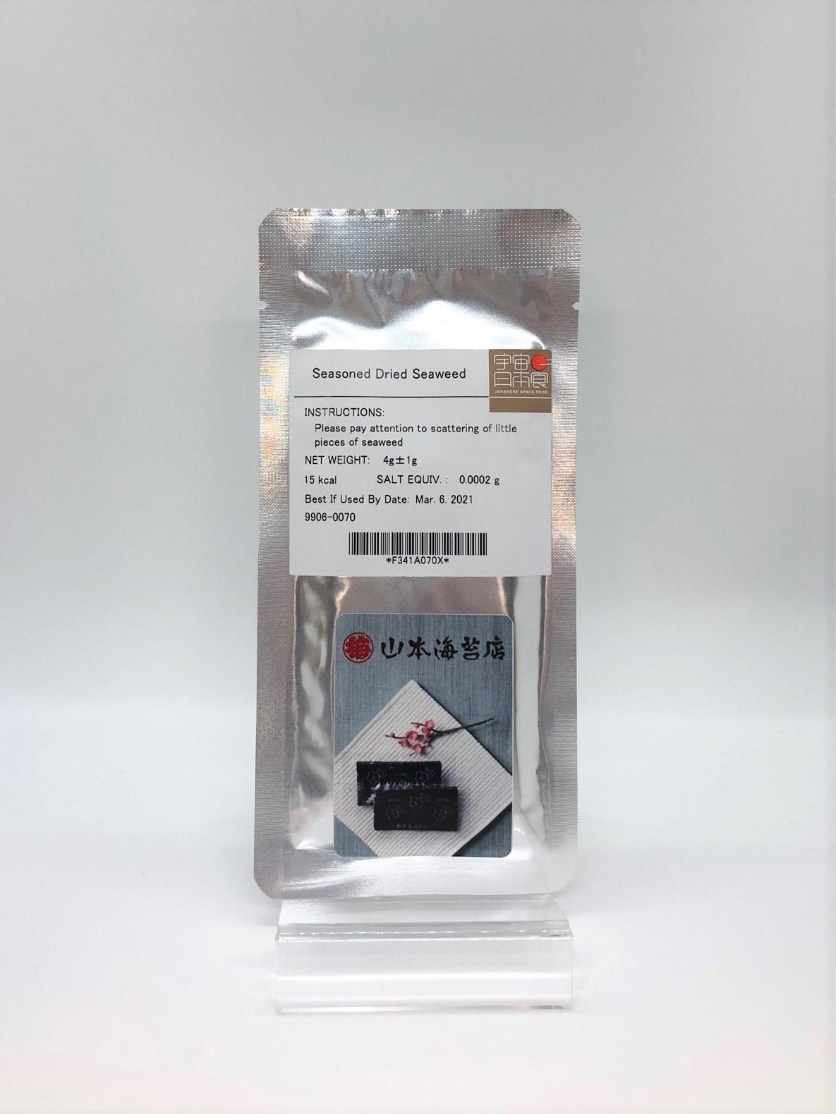 【Yamamoto Noriten】 JAXA Certified Flavored Nori Goes to Space