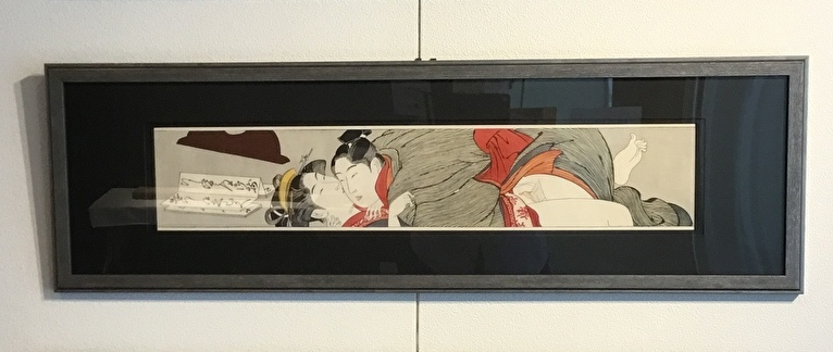 A timeless eroticism created by old and new shunga woodblock prints