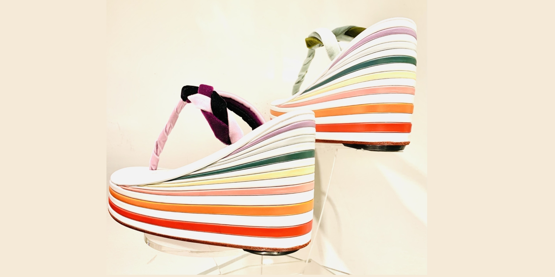 【Yotsuya Sanei】 New Summer Colors for High-Heeled Zori—ZORI Sadayakko