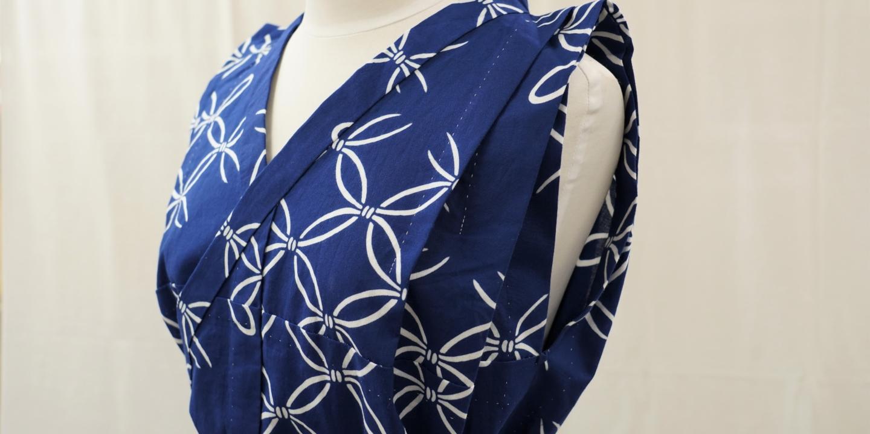 "【Chikusen】Unveiling innovative yukata styles: The ""yukata blouse"" and ""running-stitch pleated skirt"""